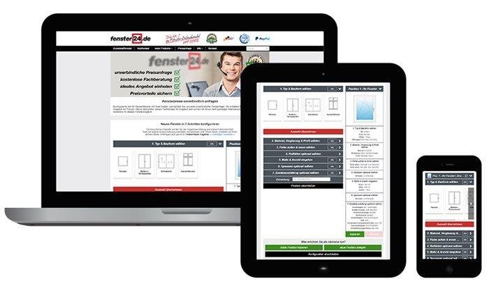 Ihr online partner f r bauelemente nach ma for Fenster 24 konfigurator