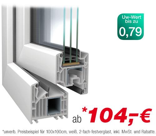Favorit VEKA Softline 82 günstig online kaufen | Fenster24.de TK92