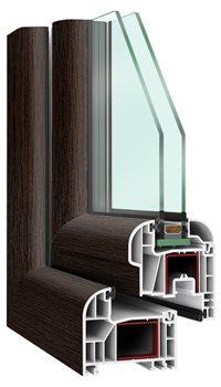 kunststofffenster febobasic round einfach klasse. Black Bedroom Furniture Sets. Home Design Ideas
