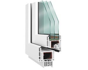 kunststofffenster febolux 80 das energiesparfenster. Black Bedroom Furniture Sets. Home Design Ideas