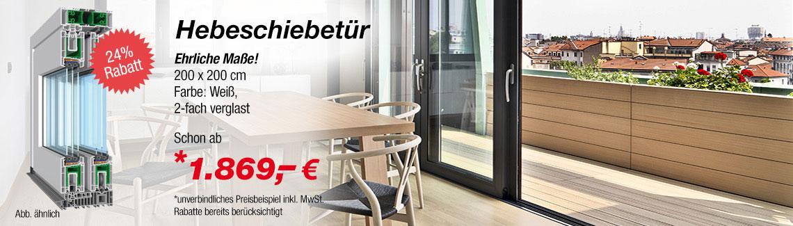 Hebeschiebetur Zum Gunstigen Preis Online Kaufen Fenster24 De