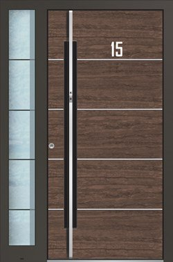 mit seitenteil fabulous haustren kunststoff wei mit. Black Bedroom Furniture Sets. Home Design Ideas