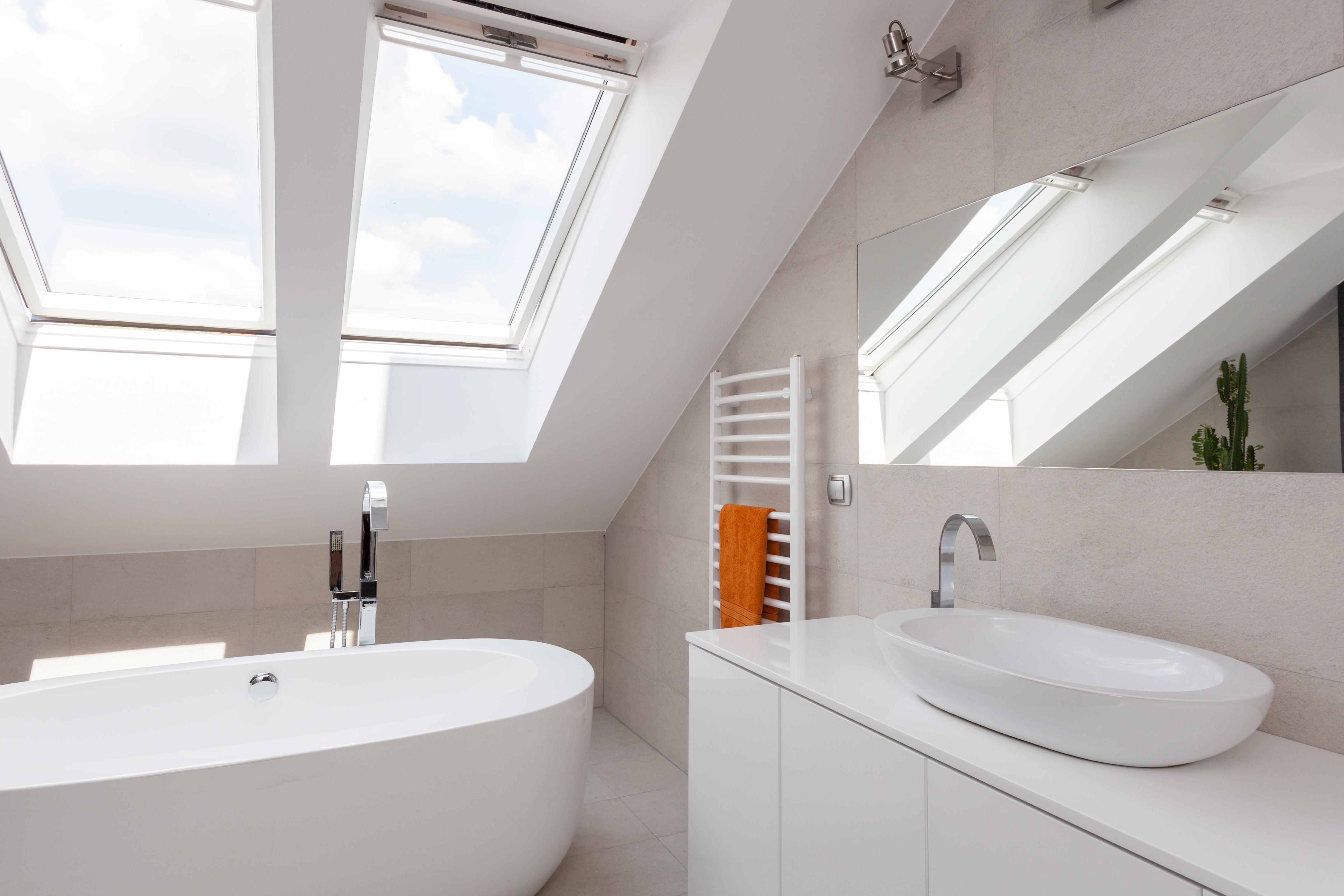 Dachfenster innen verkleiden cool dachfenster trockenbau - Fensterbank innen ausbauen ...