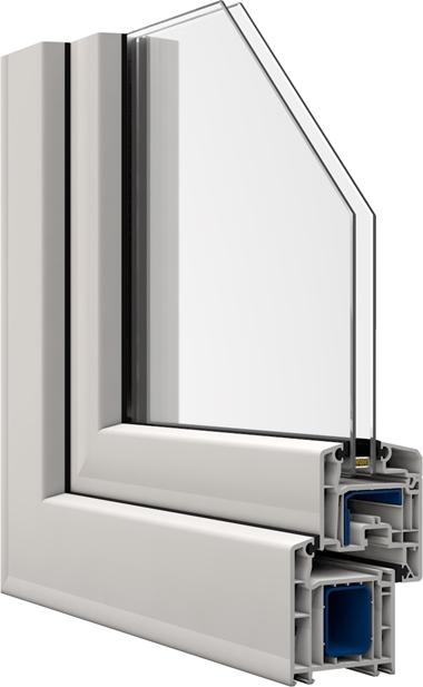 kunststofffenster von veka das softline 70 ad. Black Bedroom Furniture Sets. Home Design Ideas